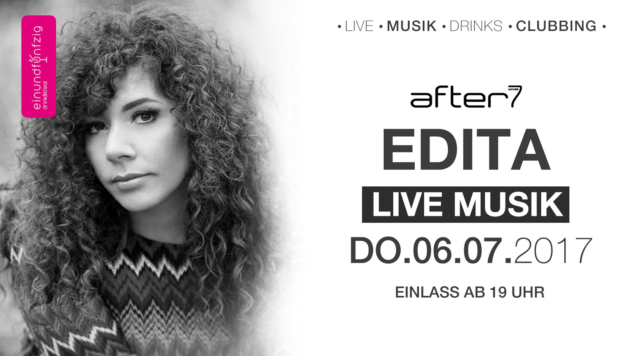 06.07.17 – EDITA live @ after 7