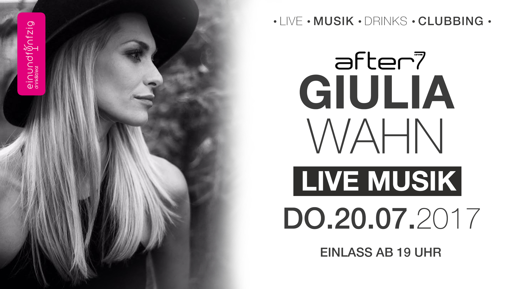 20.07.17 – Guilia Wahn live @after7