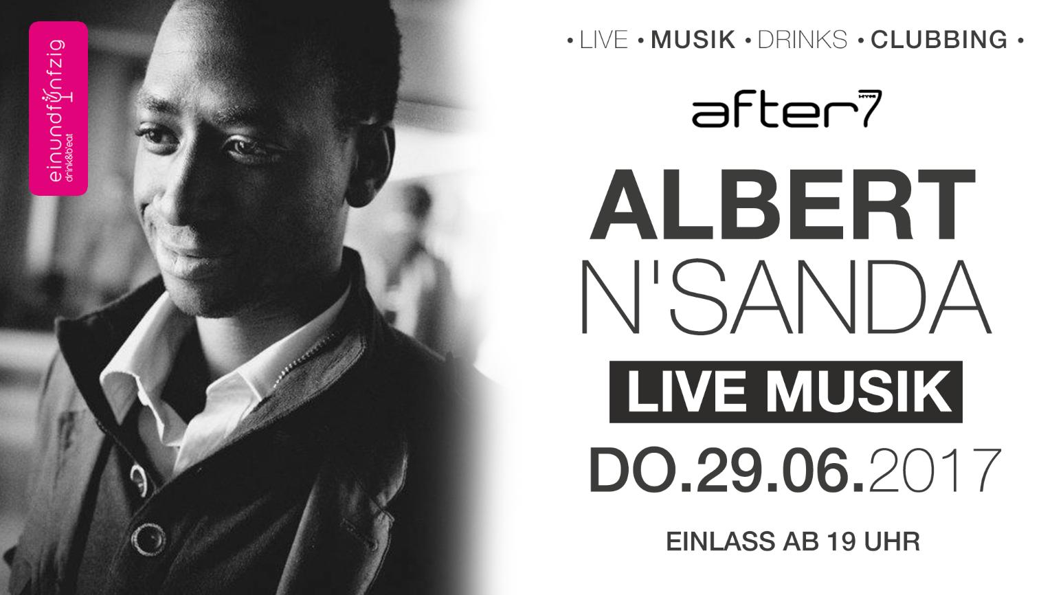 29.06.17 – Albert N´Sanda live @after7