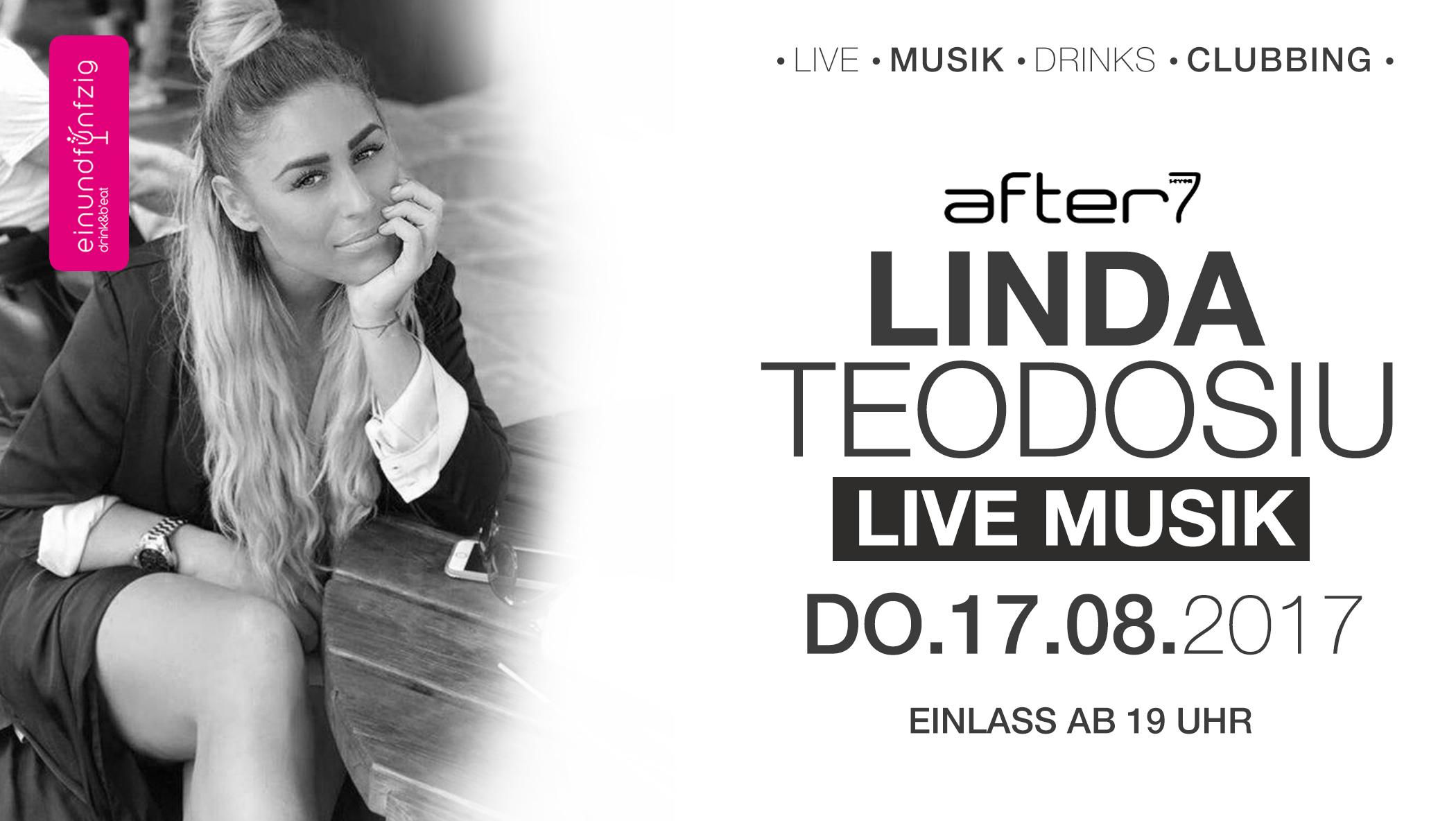 17.08.2017 – Linda Teodosiu live @after7