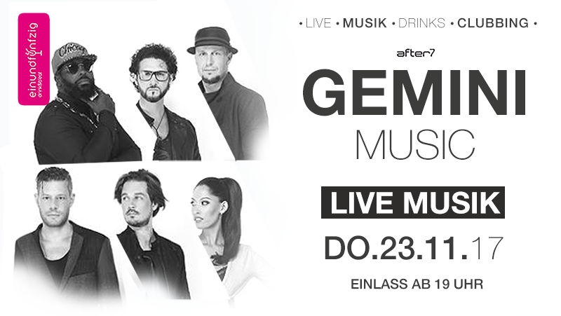 23.11.17- Gemini Music live @after7