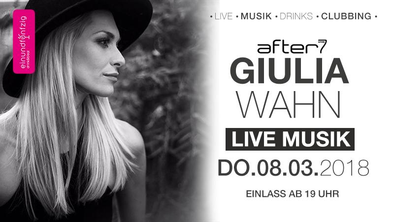 08.03.2018 – Giulia Wahn @After7