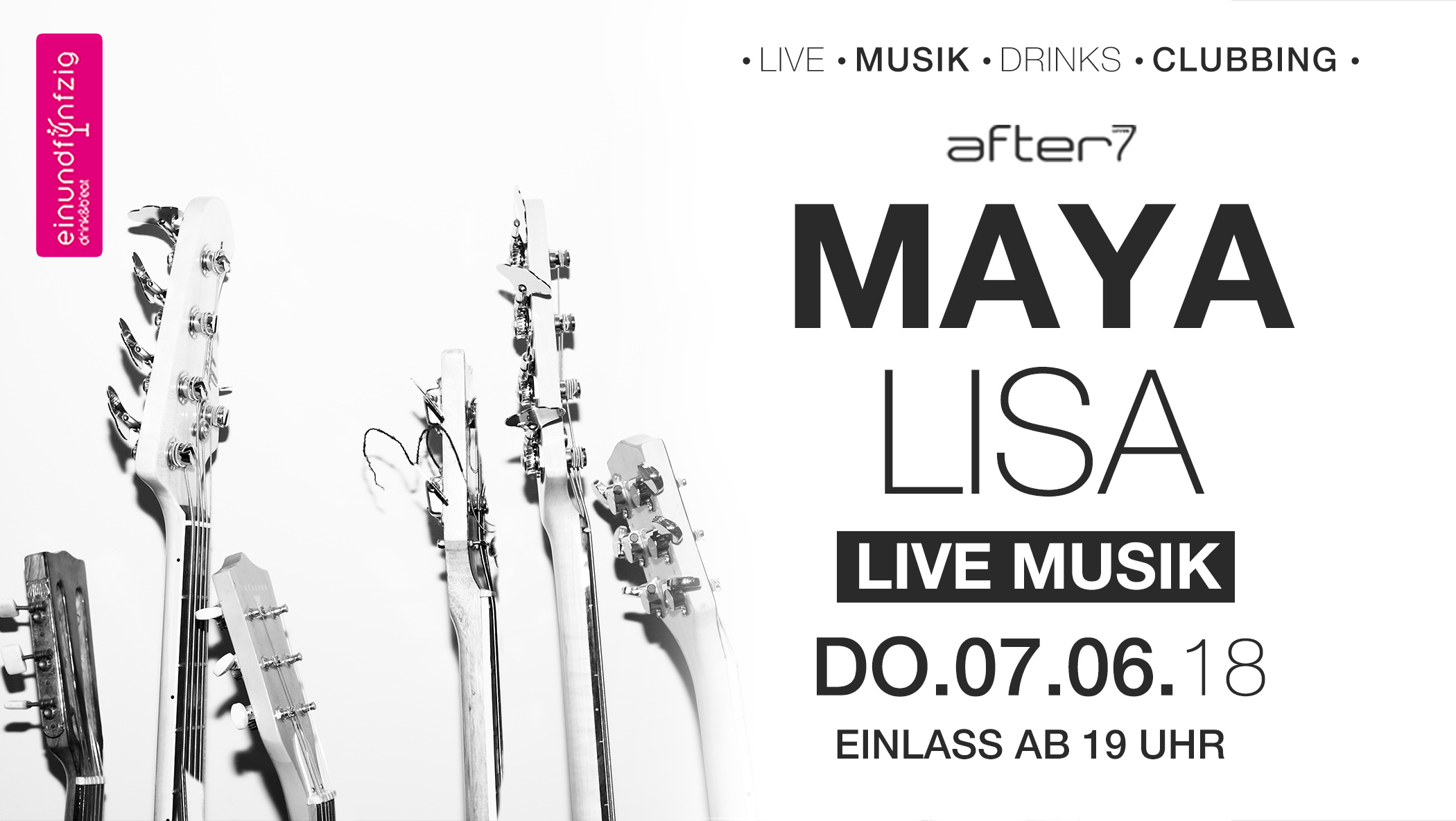 Do. 07.06.2018 MAYA LISA NACHT @After7