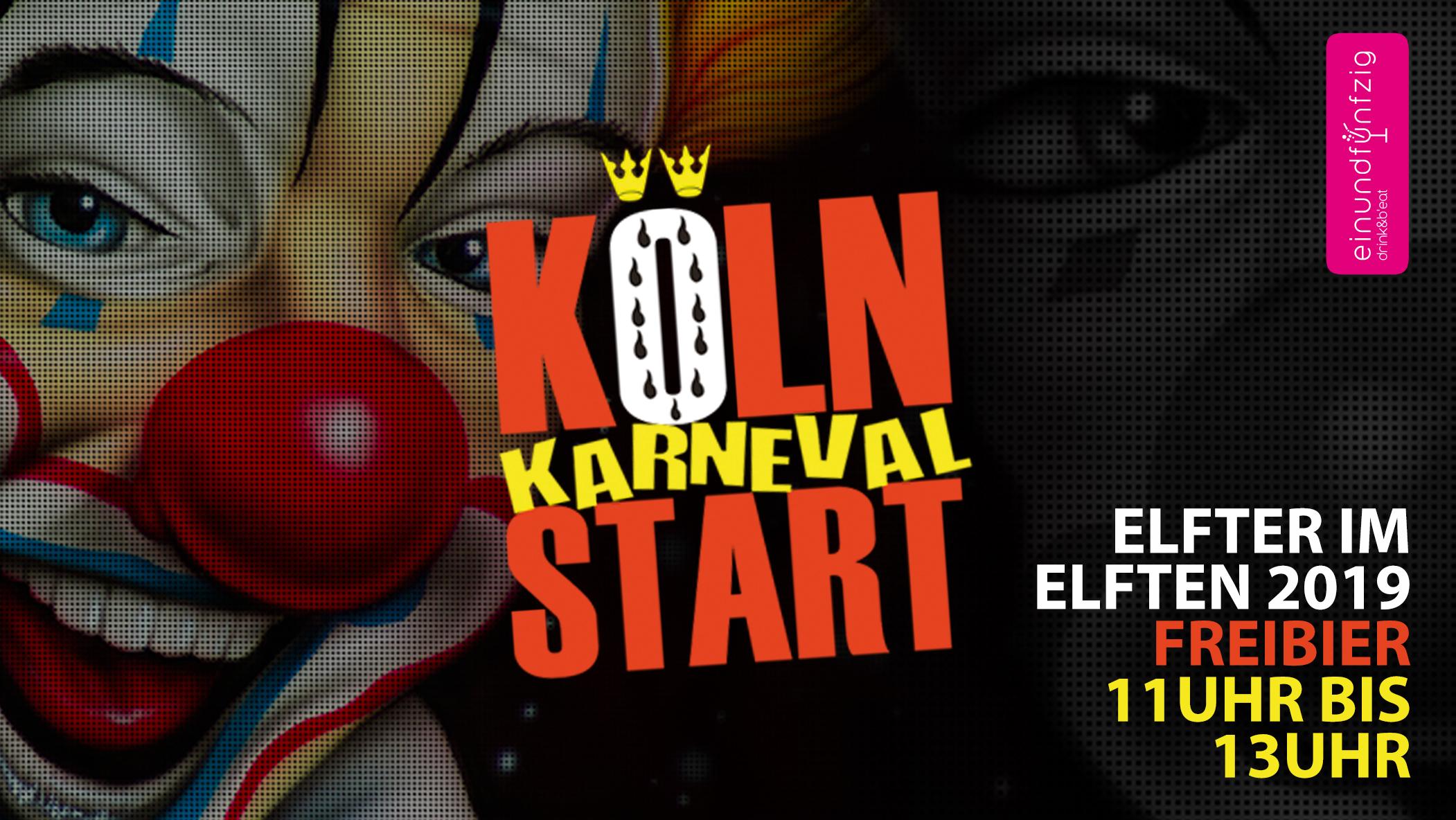11.11.2019 - KÖLN - KARNEVAL - START