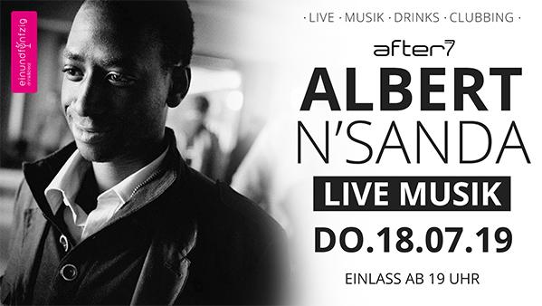 18.07.2019 – ALBERT N'SANDA@After7