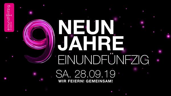 28.09.2018 – Neun Jahre Einundfünfzig @Einundfünfzig
