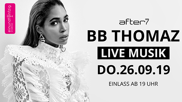 26.09.2019 – BB THOMAZ@After7