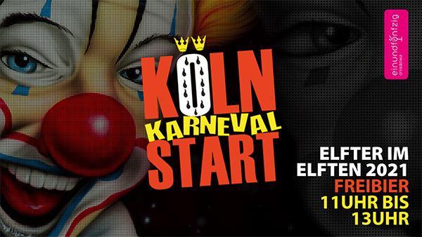 DO. 11.11.2021 – Karnevalsstart @ 51